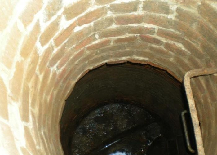 Manhole Rehabilitation - Before
