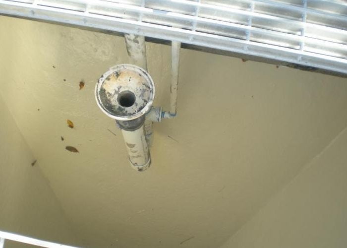 Leaking Waste Water Treatment Infrastructure - After