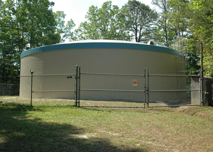 Water Tank Maintenance - After - Town of Robbinsville