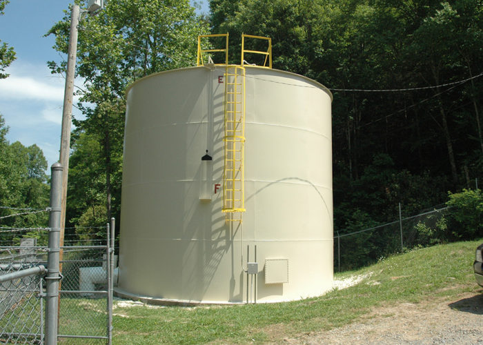 Steel Tank Painting - After - Town of Robbinsville