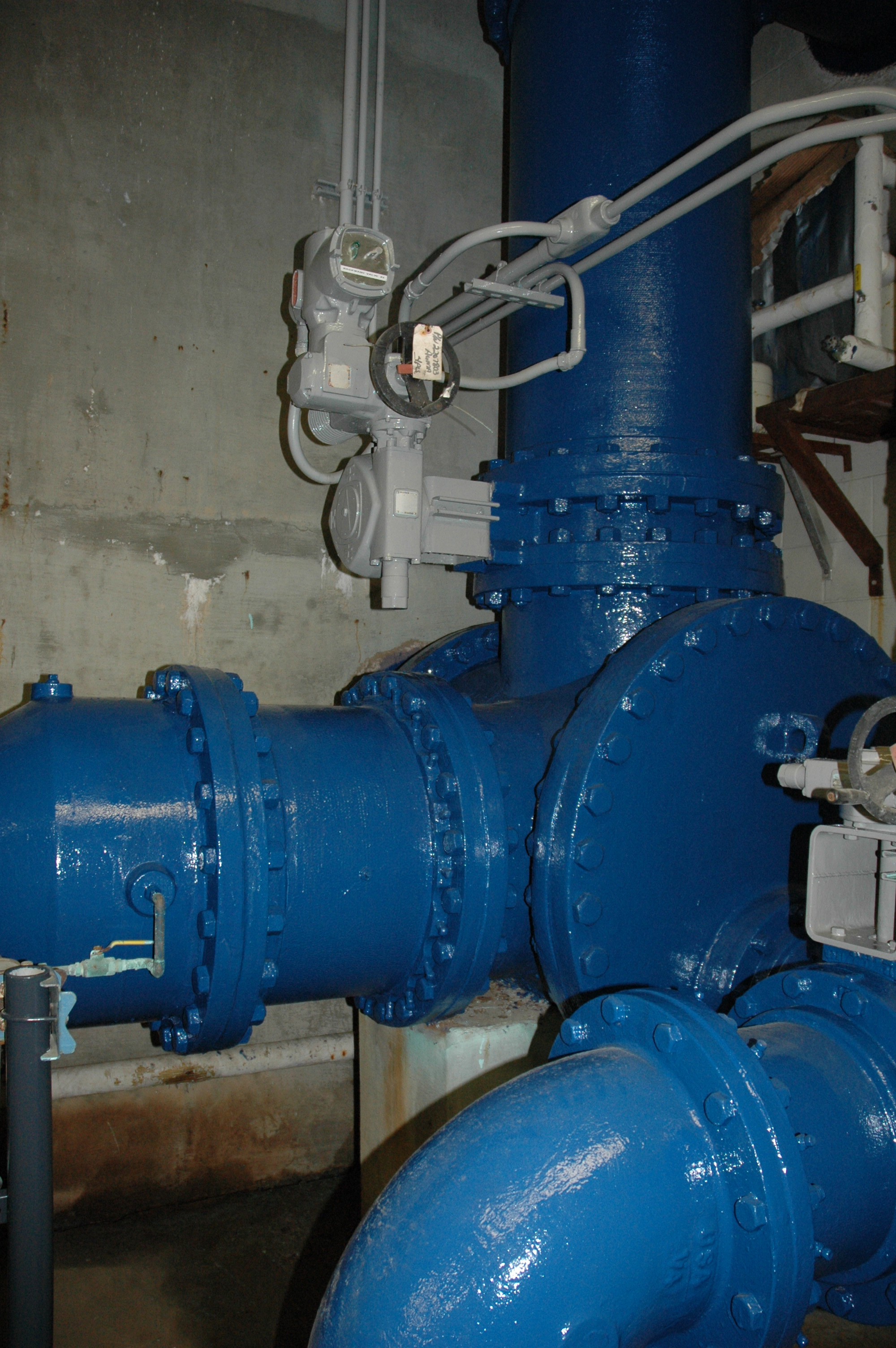 Corrosion Control Pipe Gallery - After - North Fork WTP